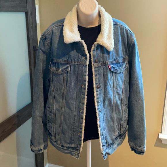 Levi Strauss lined Jean Jacket